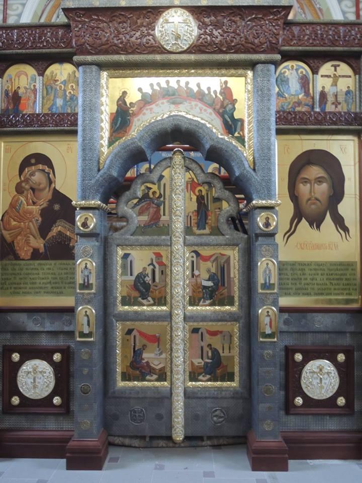 Иконостас Ильинского храма в с. Дыдылдино 2015г.