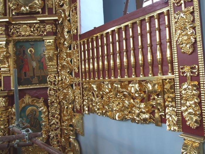 Иконостас Троицкого храма в Троице-Лыково, Нарышкинское барокко