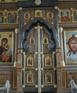 Иконостас в  храме в честь св. Николая на Болвановке (Москва) 2011г.