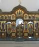 Иконостас в  храме в честь Преображения Господня в г. Игрим (ХМАО) 2012г.