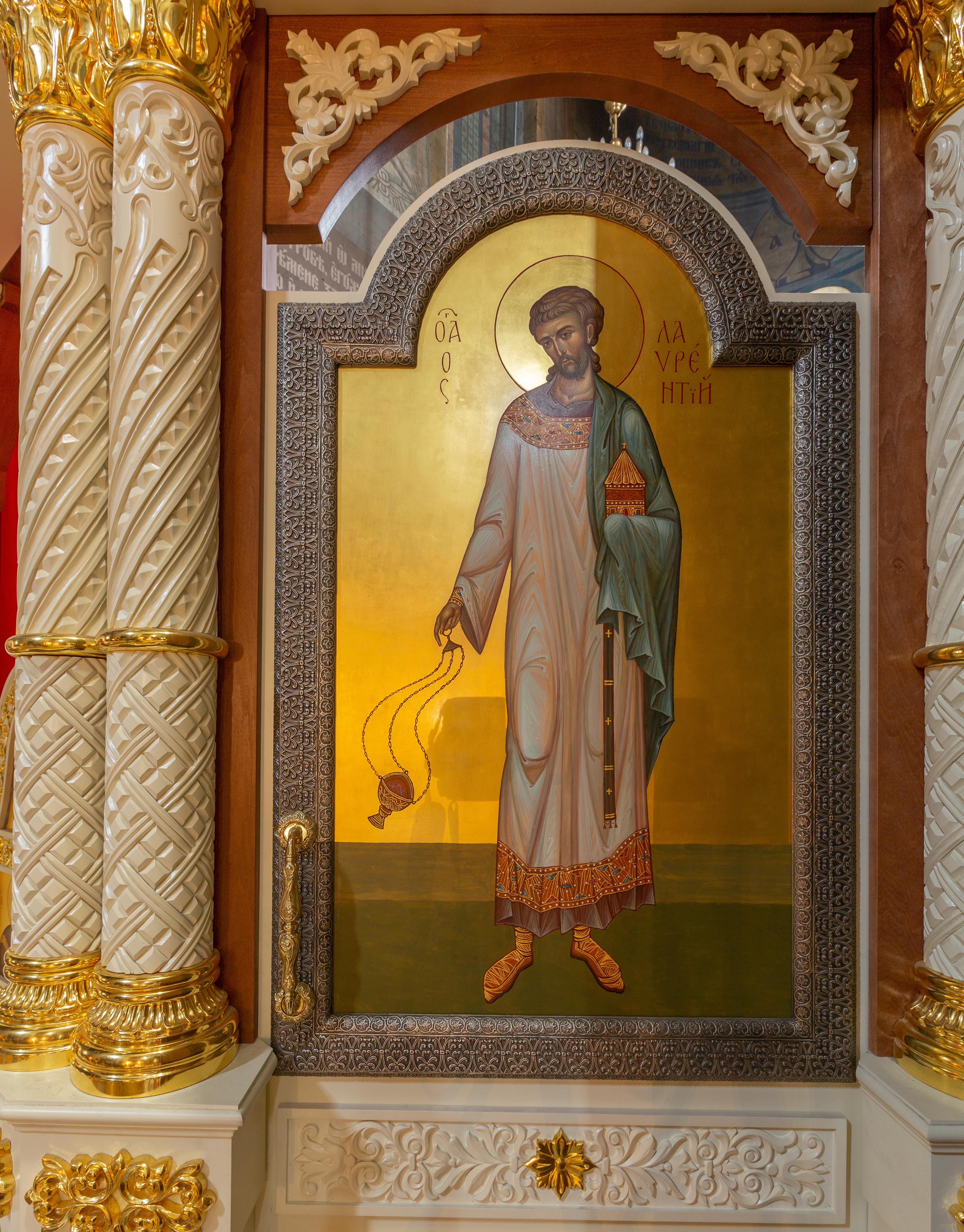 Иконостас храма во имя иконы Божией Матери «Утоли мои печали» в Марьино 2018г.