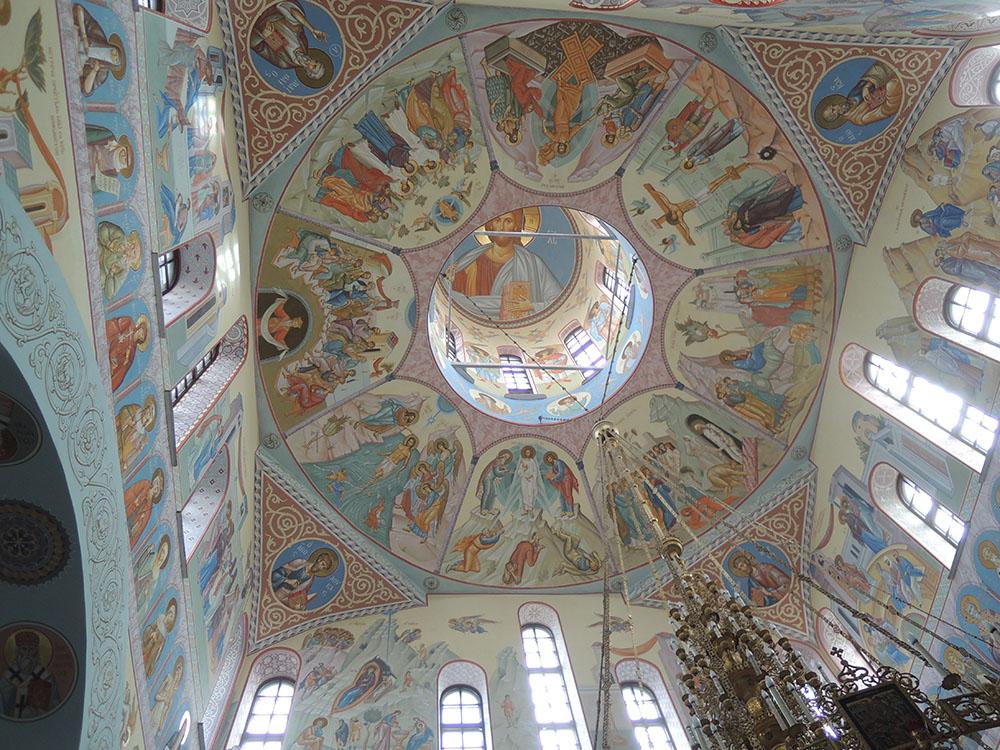 Роспись Кафедрального Преображенского Собора в Сургуте(проект С.Ржаницыной, исполнение под руководством С.Ржаницыной)